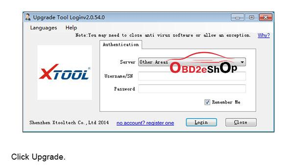 XTOOL HD900 Code Reader software