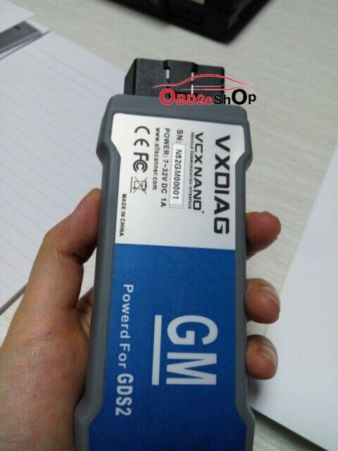 VXDIAG VCX NANO for GM OPEL GDS2