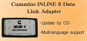 Cummins INLINE 6 Data Link Adapter Insite 7.62 Diagnostic Tool