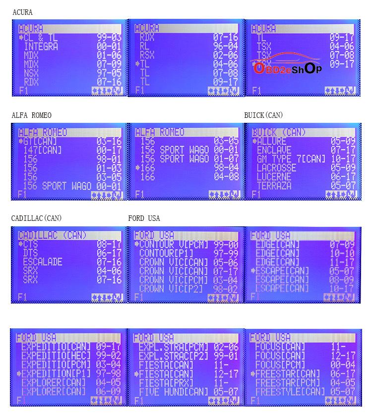 SBB-PRO2-KEY-PROGRAMMER-CAR-LIST-1