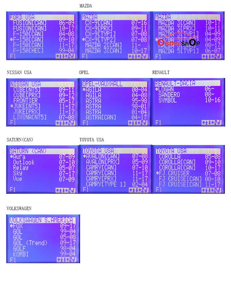 SBB-PRO2-KEY-PROGRAMMER-CAR-LIST-2