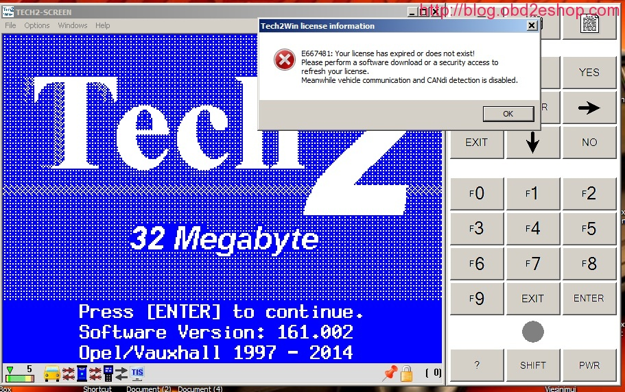 TECH2WIN-LICENSE-INFORMATION-E66748-ERROR