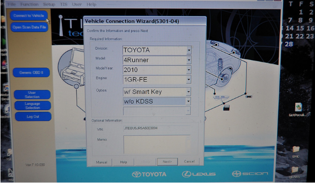 Techstream-v12-Customize-Toyota-4Runner-2010-1